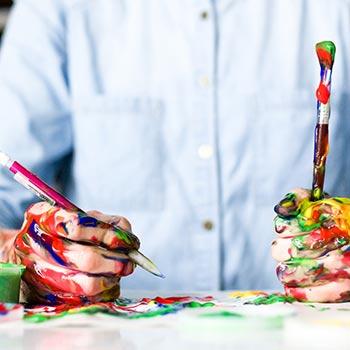 jobbamera klienters bild - skapa faktura - målare bild